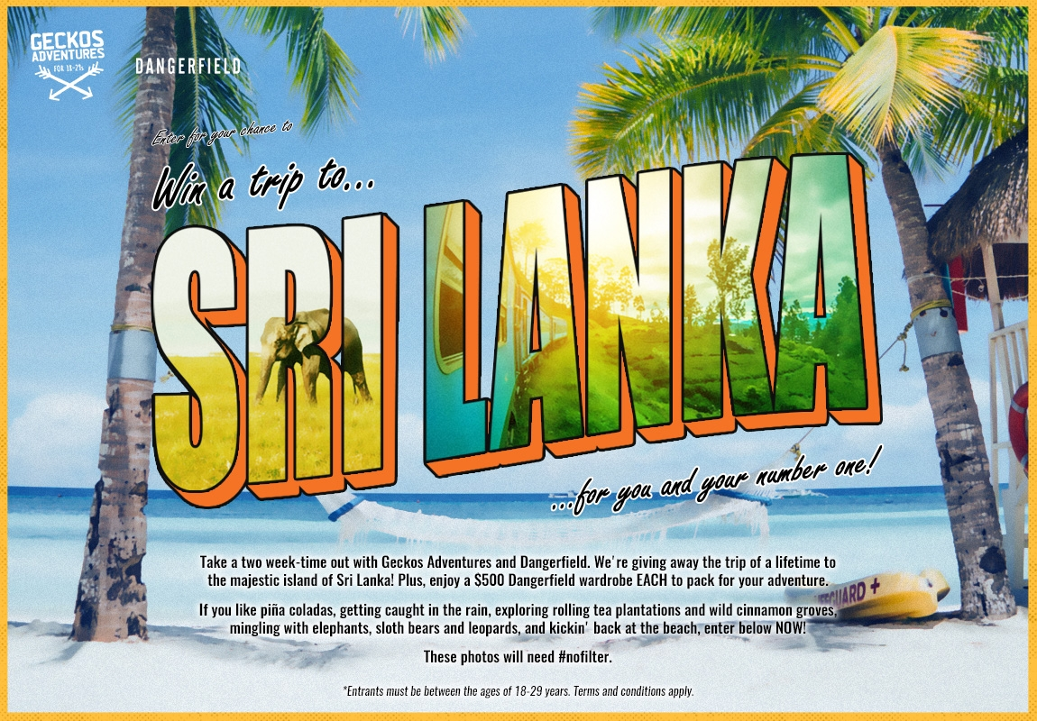 Win A Trip To Sri Lanka!