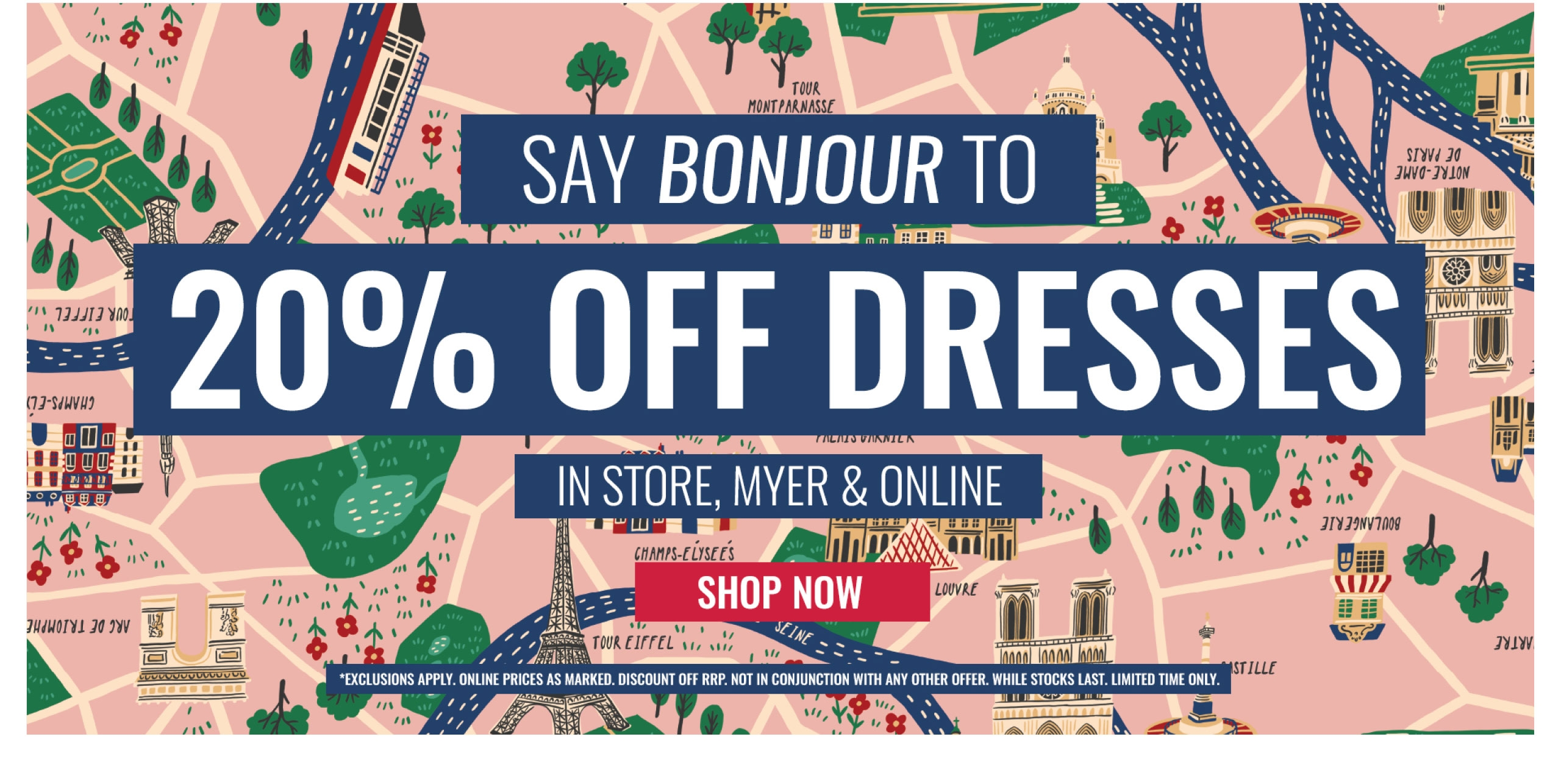 20% OFF SELECTED DRESSES